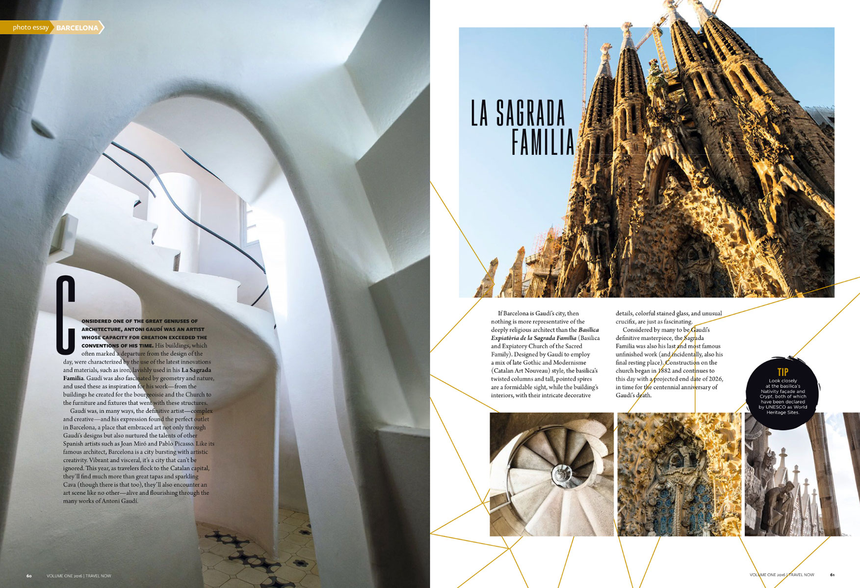 travel brochure barcelona